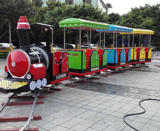 shopping mall trains